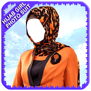 Hijab Girl Photo Suit New
