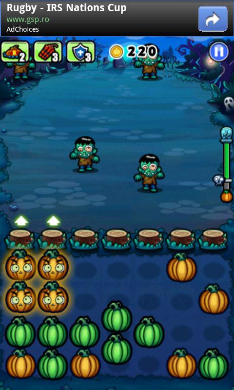 Pumpkins vs Monsters