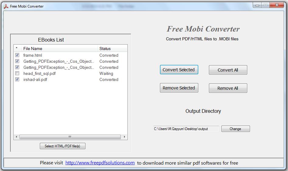 Free Mobi Converter