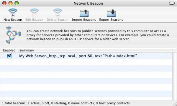 Network Beacon