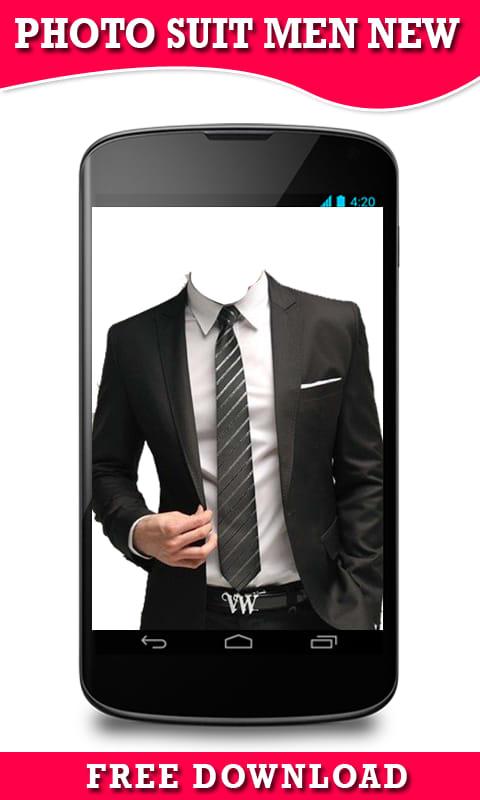 Photo Suit Men New