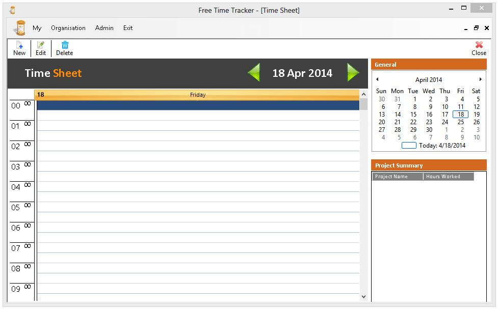 Free Time Tracker