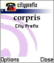corpris City Prefix