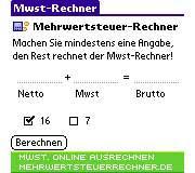 Mwst-Rechner