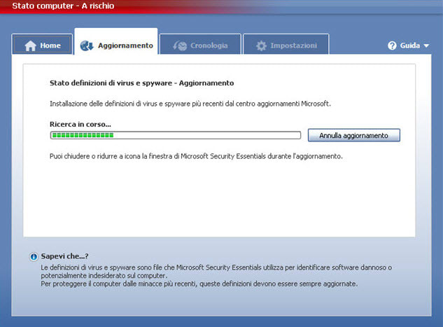 Microsoft Security Essentials Para Windows Vista 7