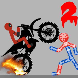 Stickman Warriors Dismounting 2