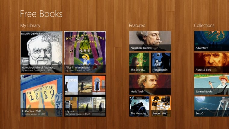 Free Books for Windows 10