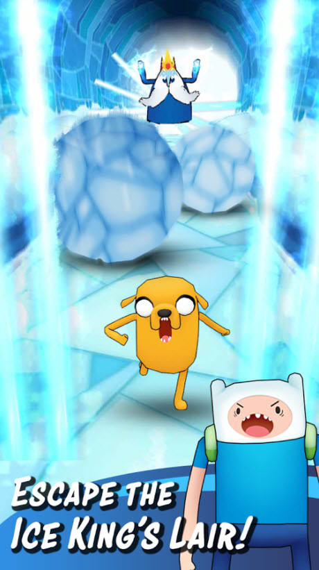 Adventure Time Run - Finn and Jake Runner