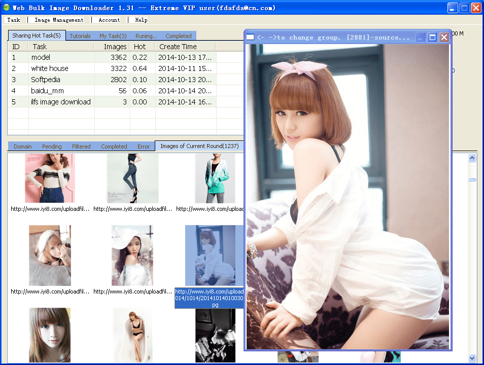 Web Bulk Image Downloader