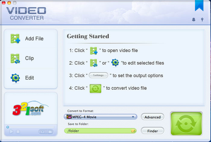 321Soft Mac Video Converter