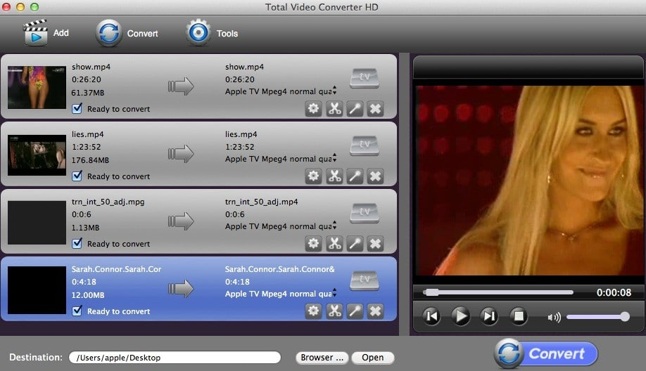 eTinysoft Total Video Converter Mac