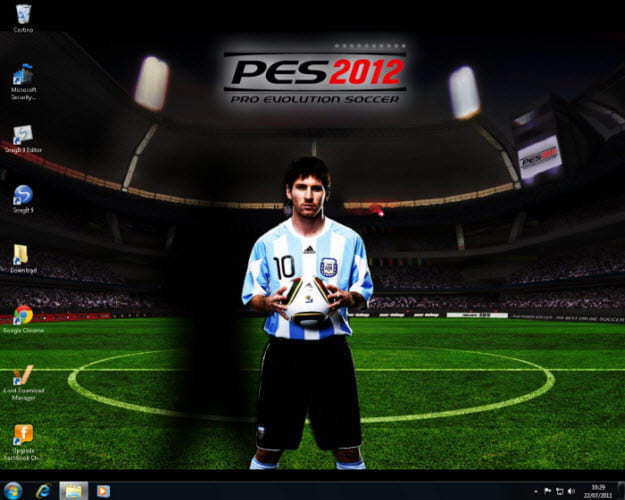 Fond d'écran PES 2012