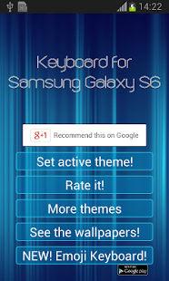 Teclado para Samsung Galaxy S6
