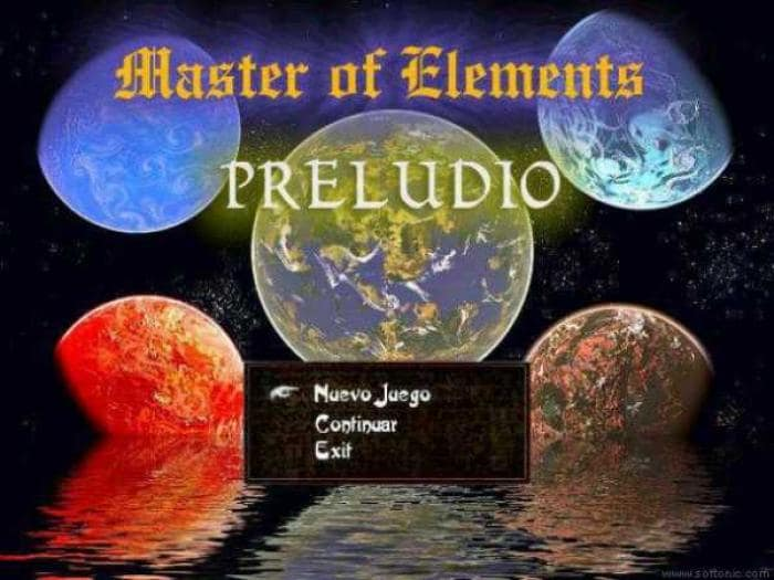 Master of Elements: Preludio