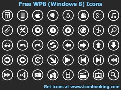 Free WP8 Icons