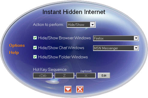 Instant Hidden Internet