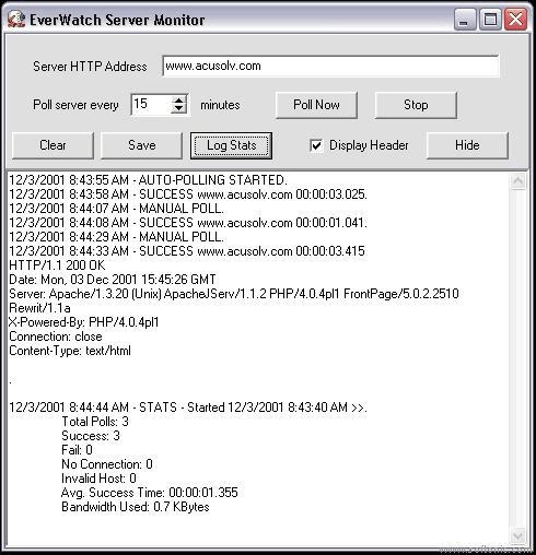 EverWatch Server Monitor