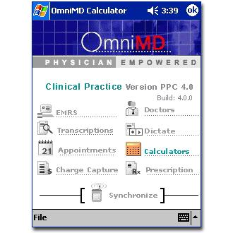 OmniMD Calculators