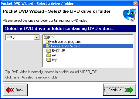 Pocket DVD Wizard