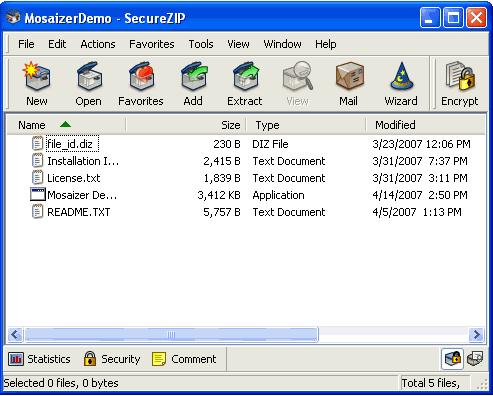 SecureZIP Express