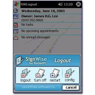 SignWise Logout