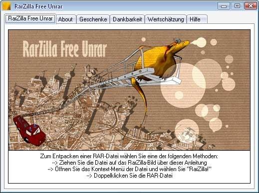 RarZilla Free Unrar Portable