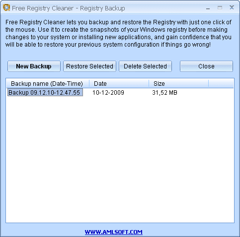 AML Free Registry Cleaner