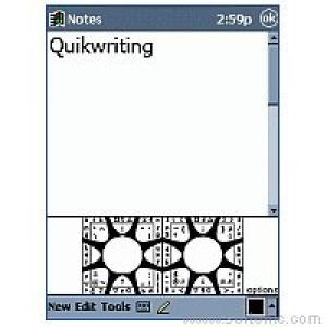 Quikwriting