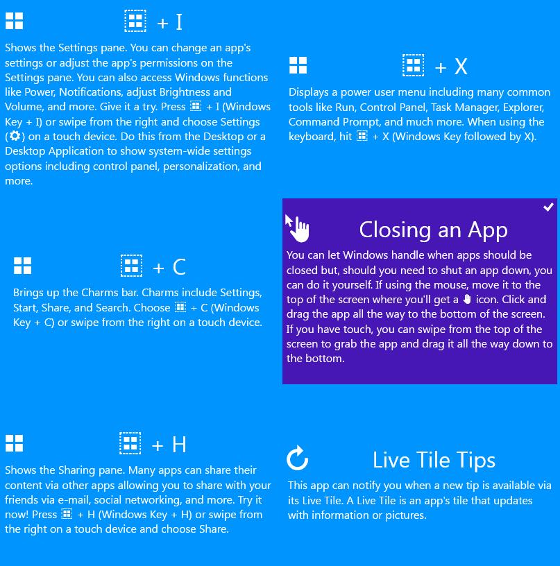 Windows 10 Cheat Keys voor Windows 10