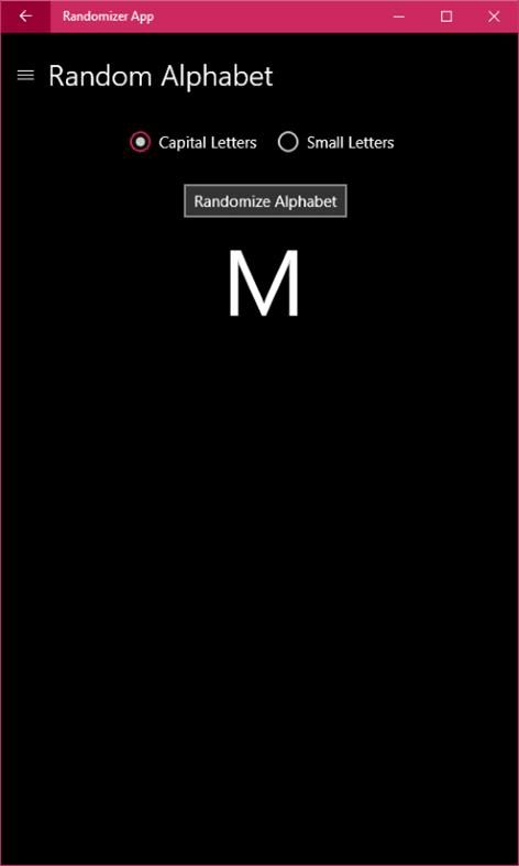 Randomizer App