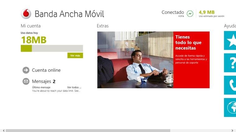 Vodafone Mobile Broadband for Windows 10