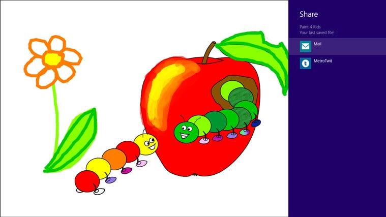 Paint 4 Kids for Windows 8 (Windows) - Download