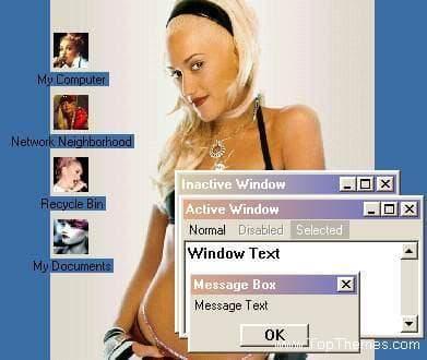 Gwen Stefani theme
