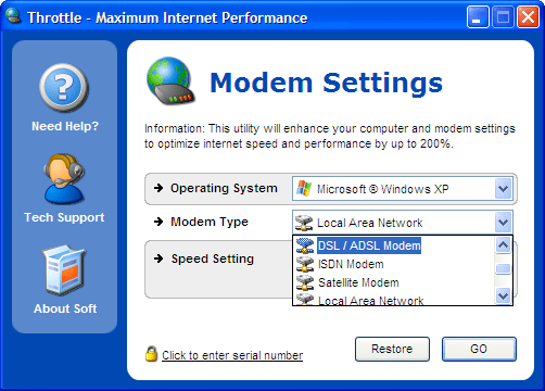 how to throtttle download speed