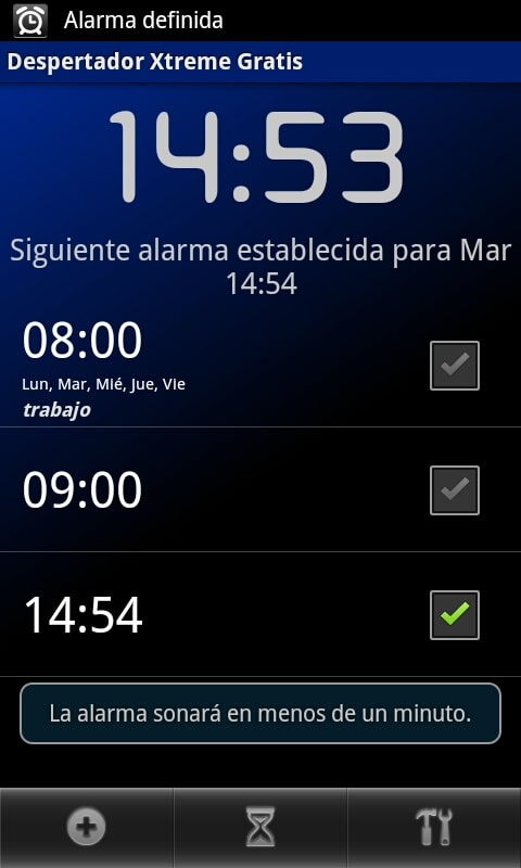 Despertador Xtreme
