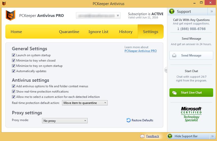 PCKeeper Antivirus