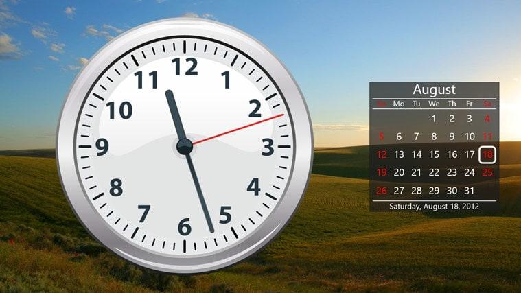 Calendar And Clock Wallpaper Free Download : Clock for windows download