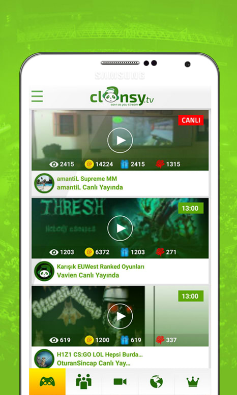 Clansy | Live Chat Broadcasting