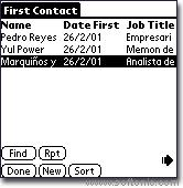 First Contact PLUS