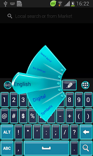 Frozen Ice Keyboard