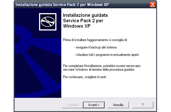 Windows XP Service Pack