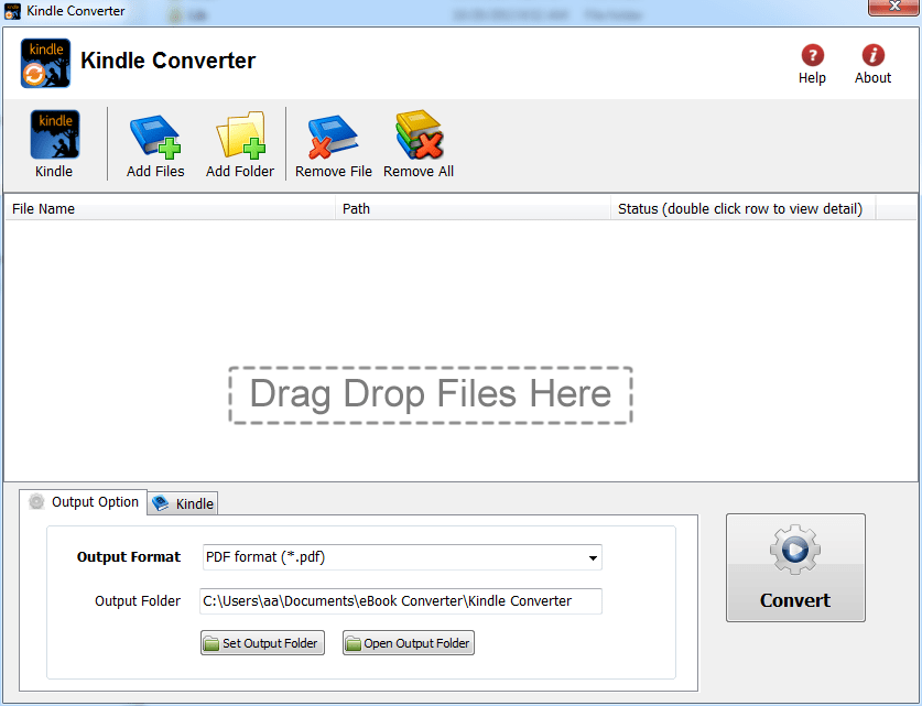 convert kindle book to pdf drm