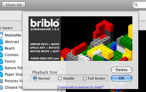 Briblo Screensaver