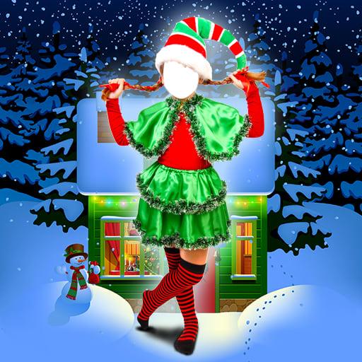 Christmas Kids Photo Montage