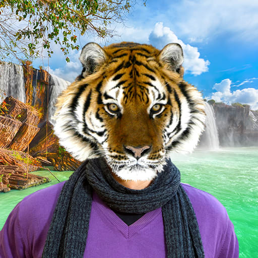 Animal Face Photo Editor