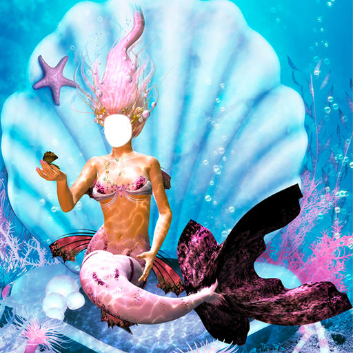 Mermaid Photo Montage