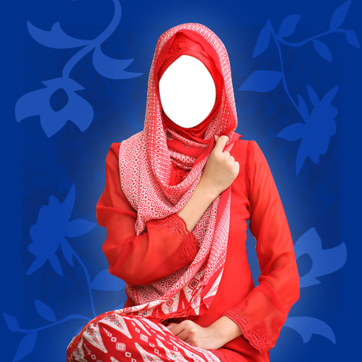 Hijab Woman Photo Montage