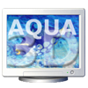 Aqua 3D Screensaver for Mac OS X