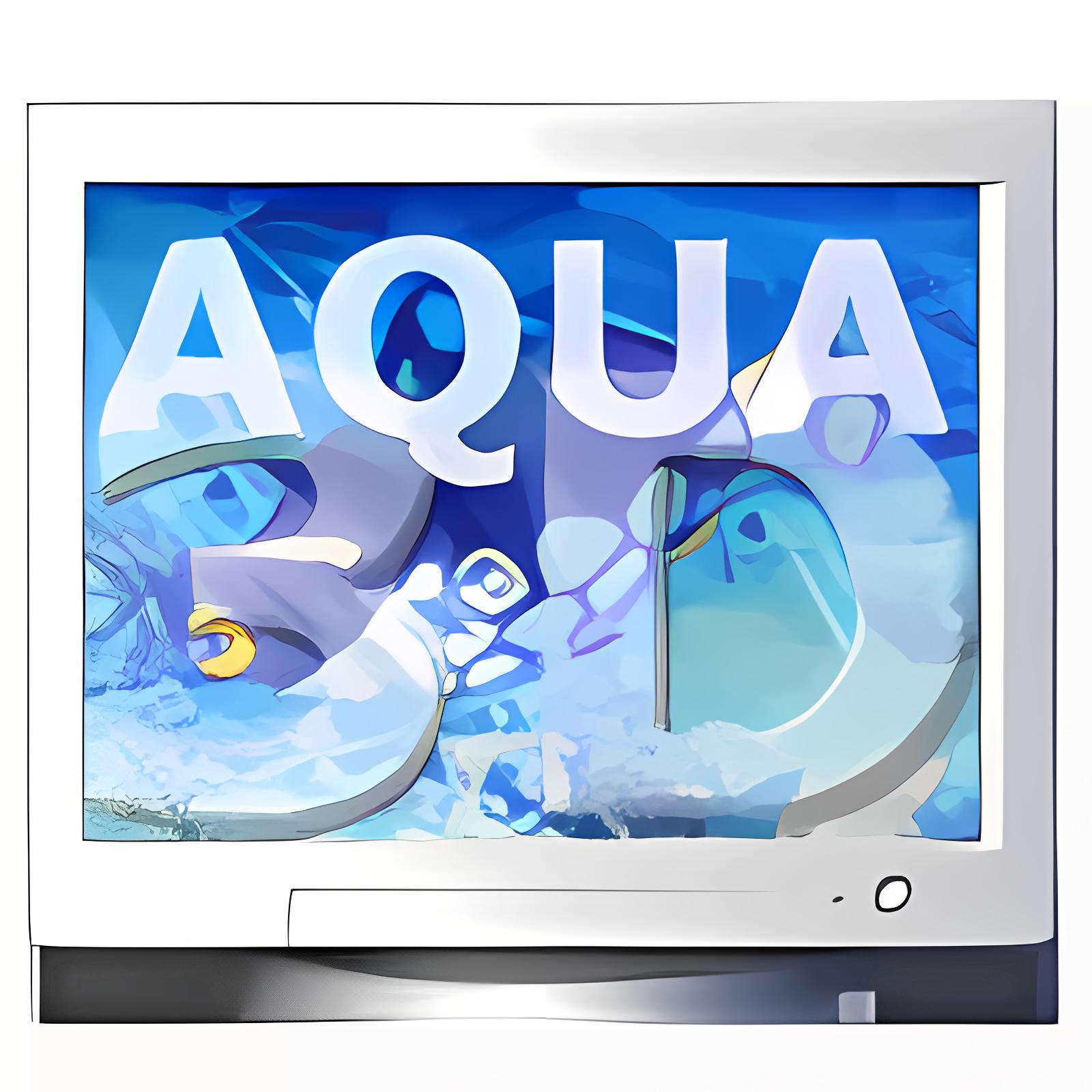 Salvapantallas: Aqua 3D para Mac OS X