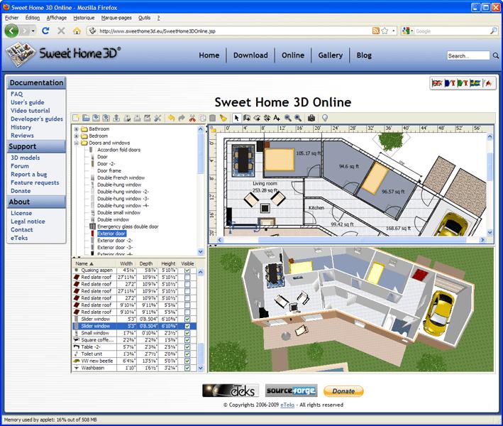 Elegant les plus with plan 3d en ligne for Conception salle de bain 3d en ligne